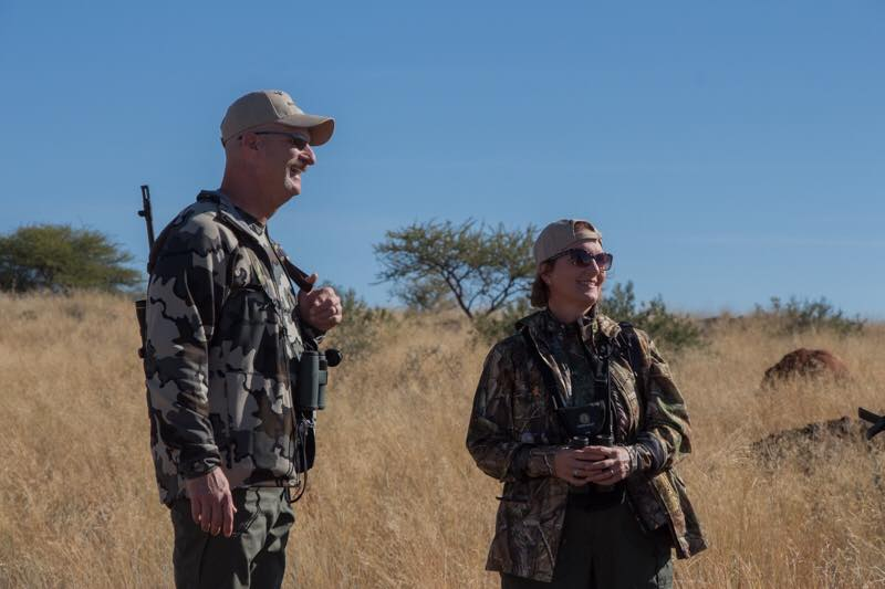 Bill & Carrie Mazelin on Safari 2