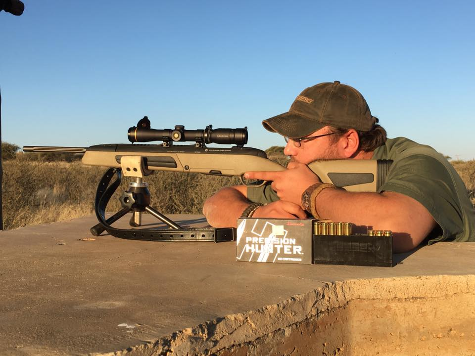 Geoffrey Wayland Steyr Arms, Inc. Scout Rifle