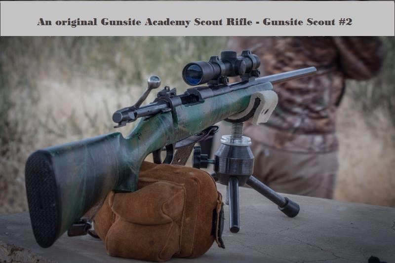 Original Gunsite Academy Scout Rifle a